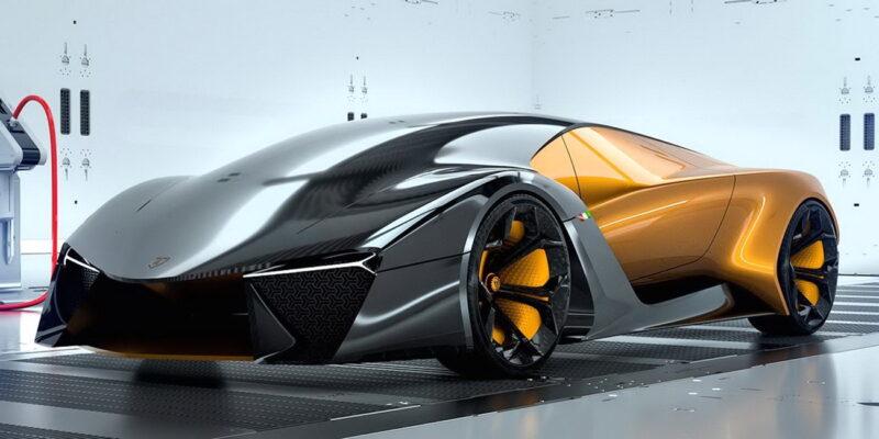 Дизайнеры Lamborghini запланировали выход нового гибрида Aventador на 2022 год