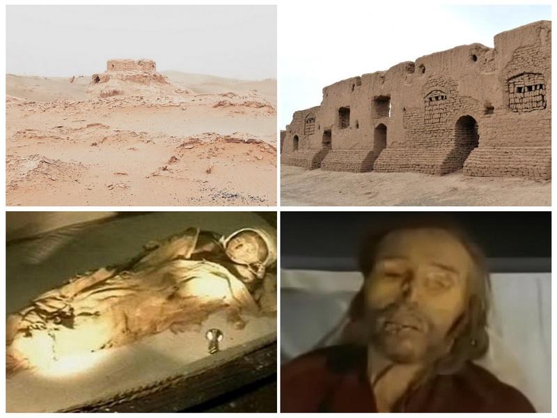 Древний мир, погребенный в пустыне Такла-Макан