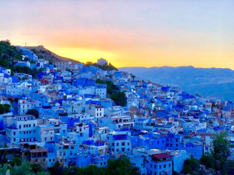 Город синего цвета: путешествие в Шефшауэн, Марокко