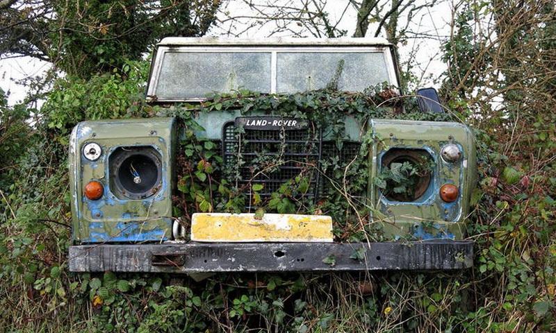 10 заброшенных джипов, найденных в джунглях