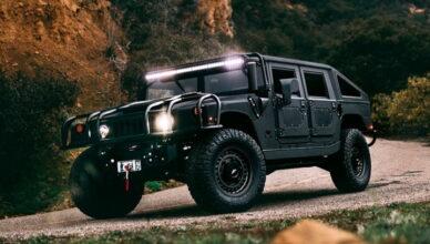6-й Hummer от Mil-Spec Automotive прибыл и выглядит готовым к бою