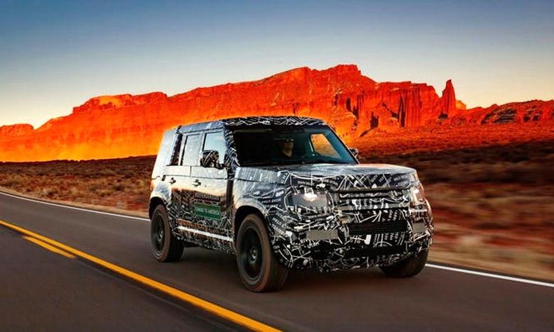Принц Гарри оценил возможности нового Land Rover Defender 2020 года