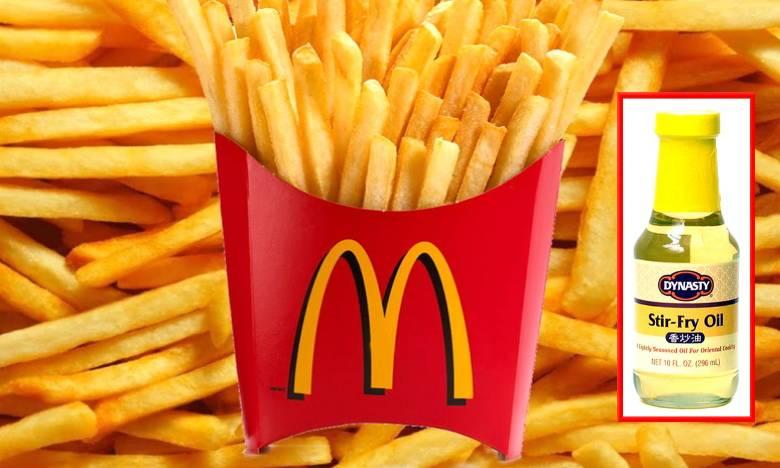 Средство против вспенивания масла «Fry Oil» от McDonald's может вылечить облысение