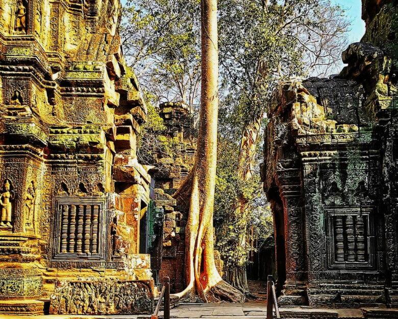 Храмы Камбоджи: путешествие в знаменитый Та Пром