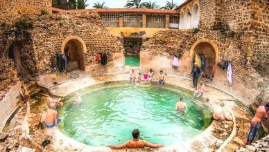 Римские бани в Алжире, построенные 2000 лет назад, все еще работают