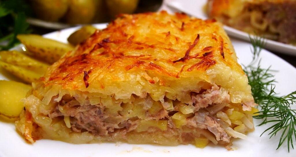 Сибирская «Харя», вкуснейшая кортофельно-мясная запеканка