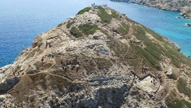 Древний остров-пирамида в Эгейском море Даскалио