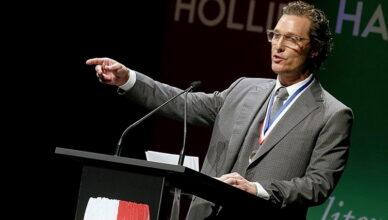 Мэтью МакКонахи стал профессором кино в Техасском университете