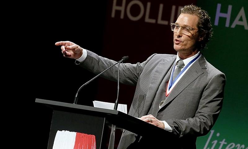 Мэттью МакКонахи стал профессором кино в Техасском университете