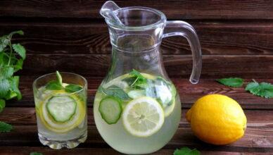 Как приготовить и правильно пить воду Сасси