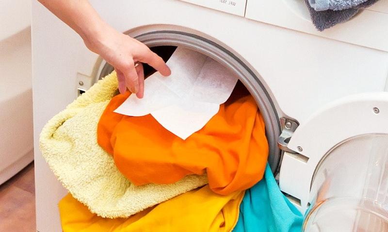 Зачем нужна влажная салфетка в стиральной машине