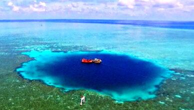«Драконья нора» — самая глубокая голубая дыра на Земле