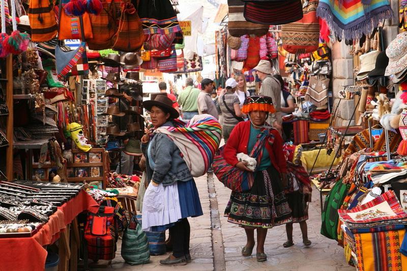 Писак — древний город в Перу
