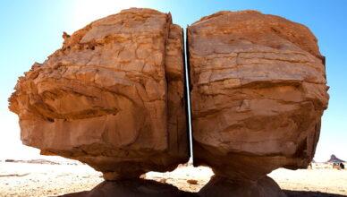 Кто разрезал камень Аль Наслаа с лазерной точностью