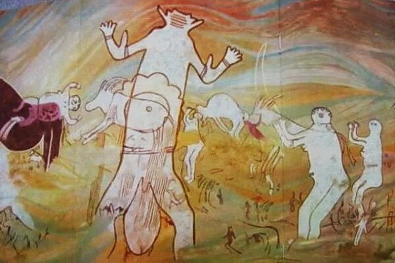 Загадка пещерных рисунков Тассилин-Аджер в Сахаре