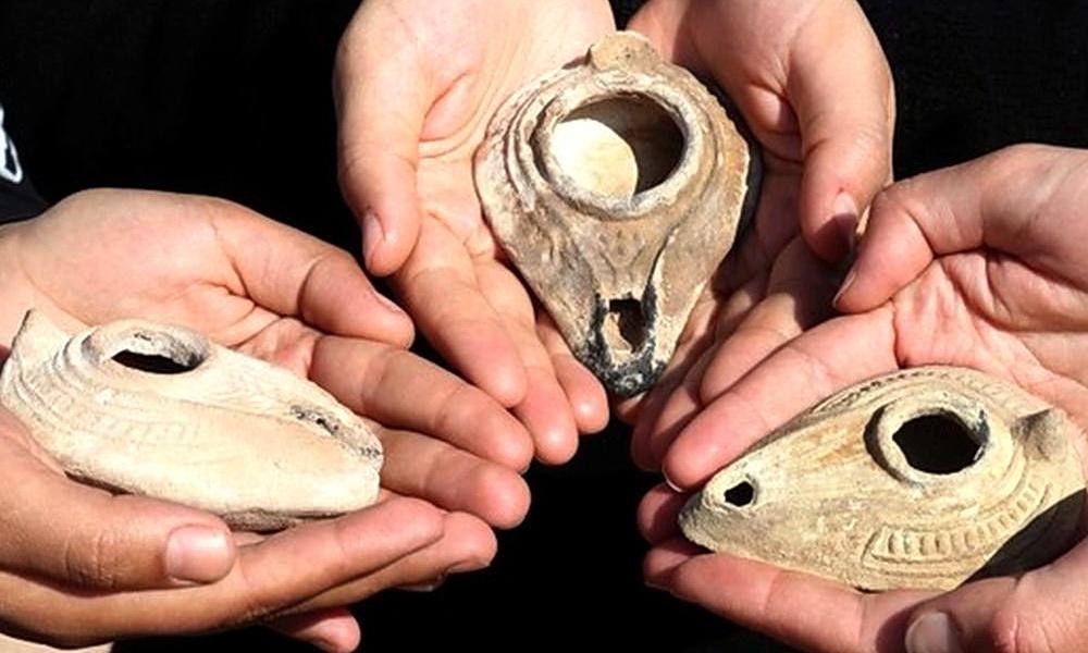 Археологи в Турции обнаружили 1500-летние лампы