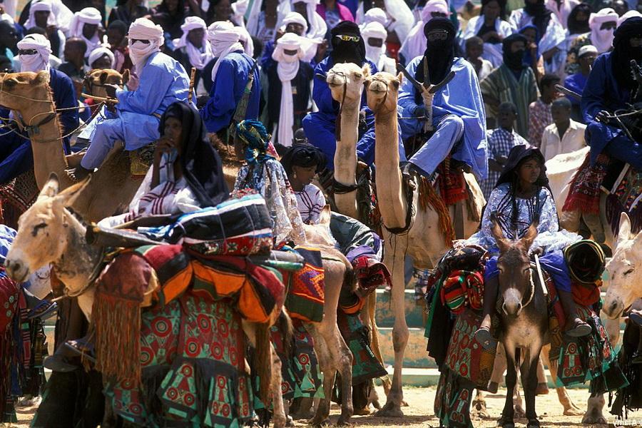 Туареги — кочевые жители северной Африки