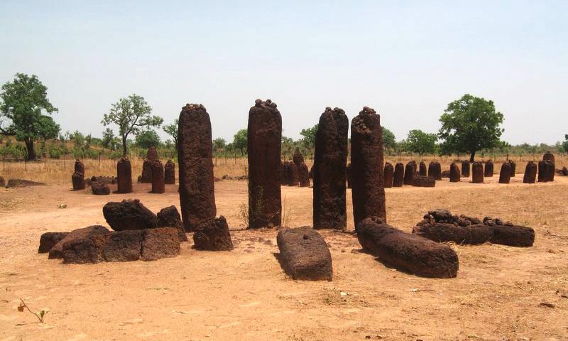 Каменные круги Сенегамбии в Вассу