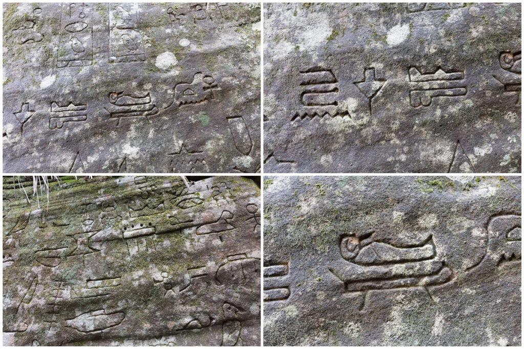 Египетские иероглифы на земле Австралии