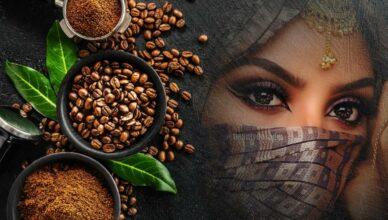 Жареный кофе от морщин вокруг глаз: редкий рецепт из гарема