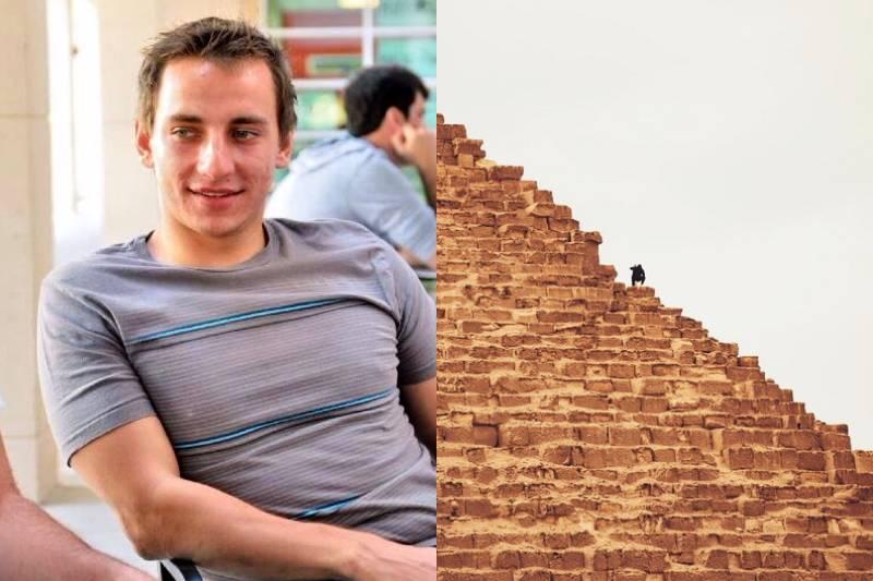 Блогер Виталий Здоровецкий «покорил» вершину Великой пирамиды и попал в тюрьму