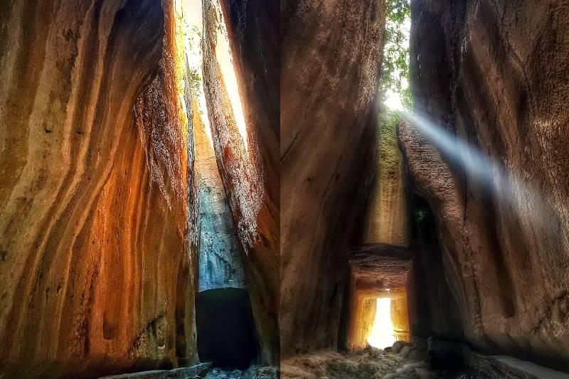 Чудо древнеримской инженерии — Туннель Титуса