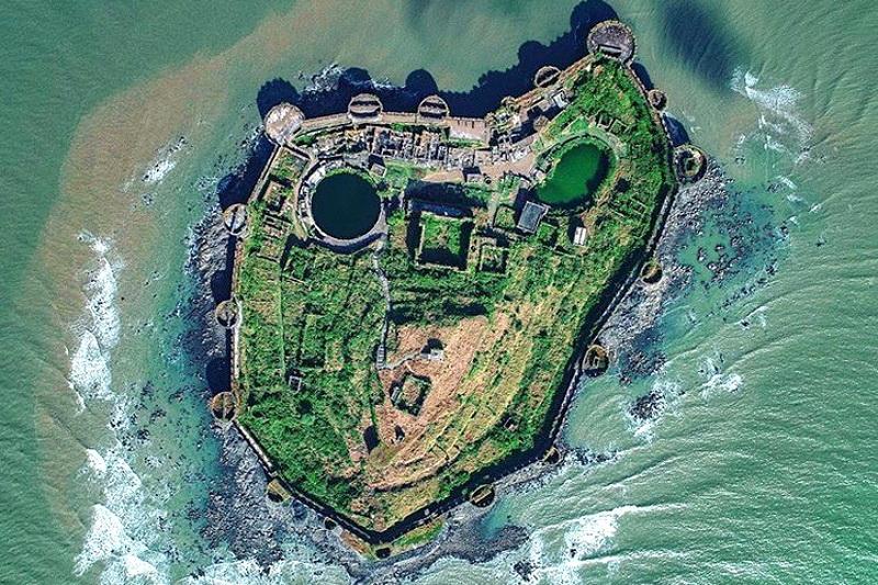 Джанджира — самый непобедимый форт в Индии