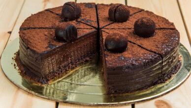 Самый шоколадный торт Трюфель
