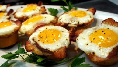 11 нестандартных способов приготовить яйца