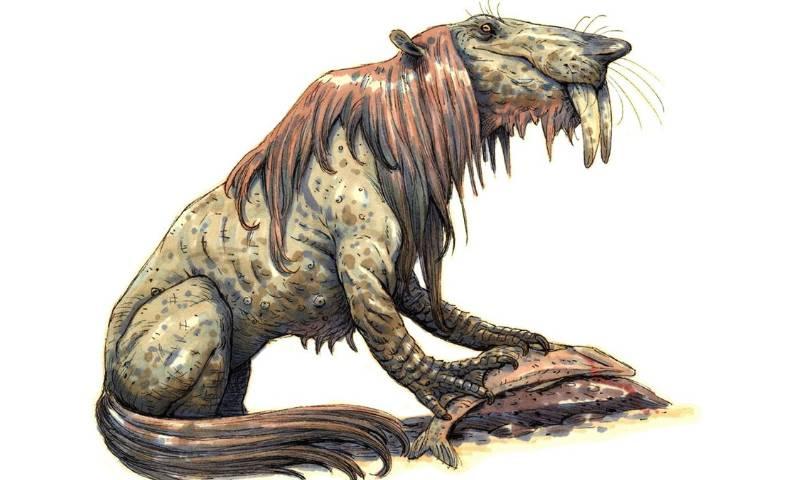Существо из австралийских мифов буньип