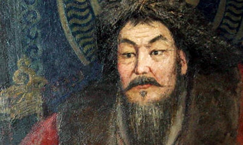 Портрет Чингизхана