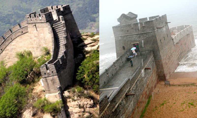Китайская стена, начало и конец