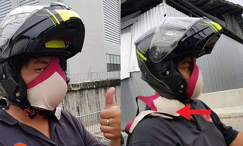 Необычная защитная маска