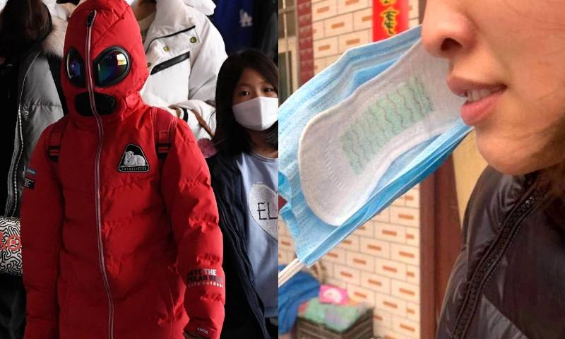 Нестандартные маски от вируса