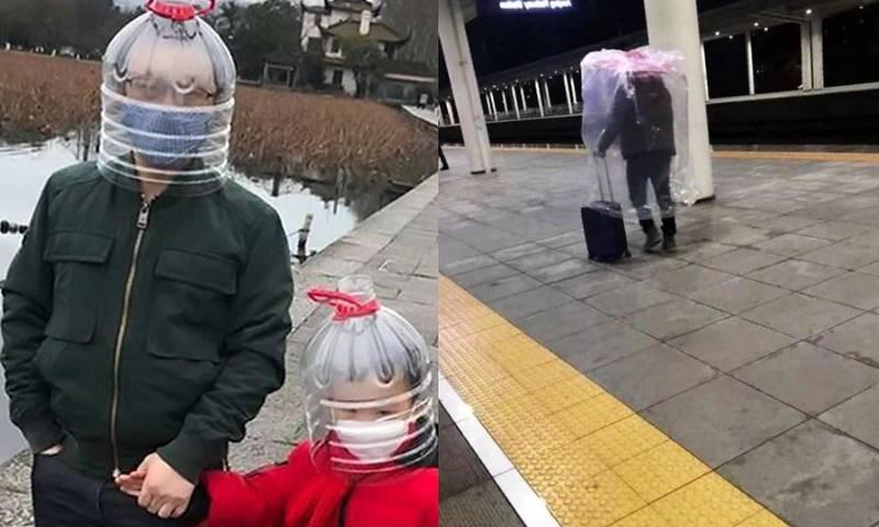 Китайцы защищаются от короновируса