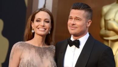 Анджелина Джоли и Брэд Питт временно воссоединились из-за дочерей
