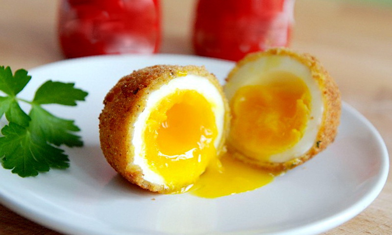 яйцо в панировке