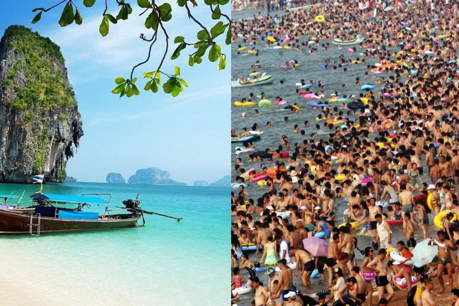 Разные пляжи Таиланда