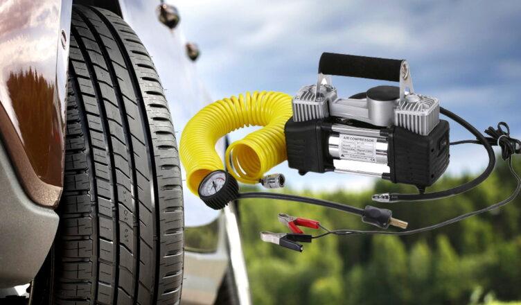 Как выбрать автокомпрессор для подкачки шин