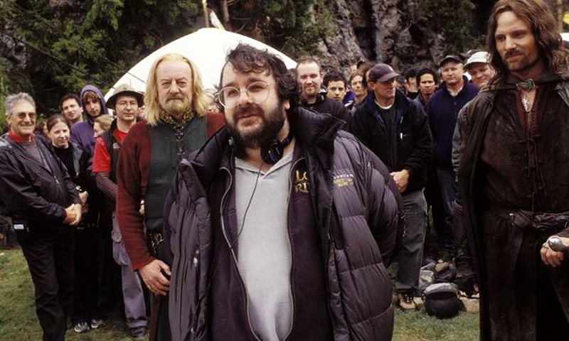Питер Джексон и часть съемочной группы