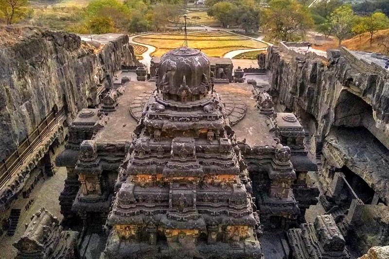 Чудо инженерии Храм Кайласа