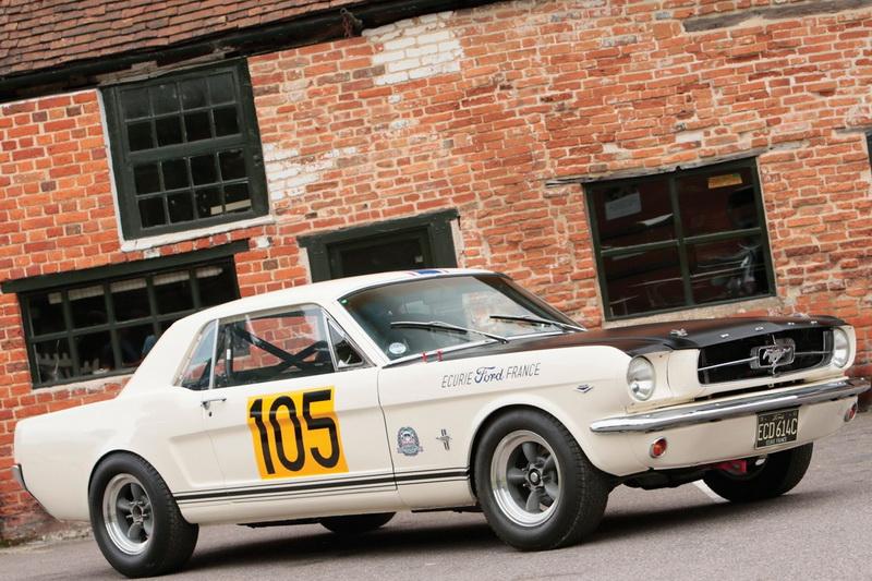 Ford Mustang 289 Racing Car 1965