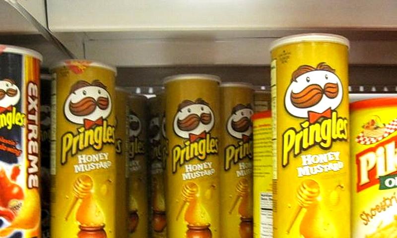 Pringles со вкусом медовой горчицы