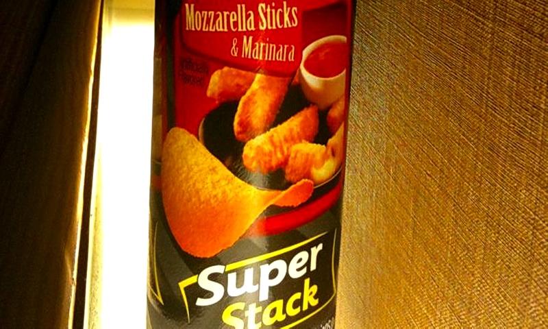 Pringles со вкусом моцареллы в соусе из маринара