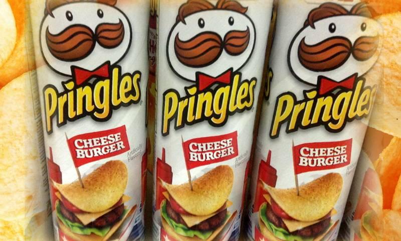 Pringles со вкусом чизбургера