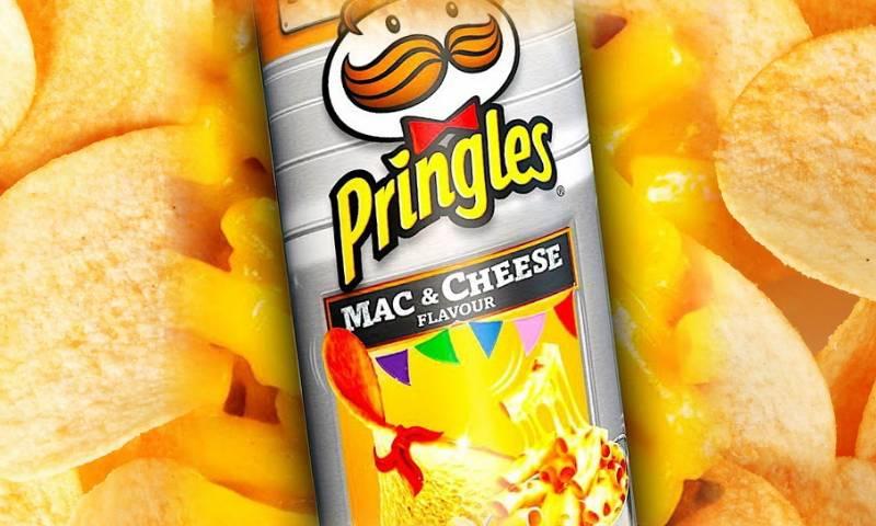 Принлгс со вкусом макарон с сыром
