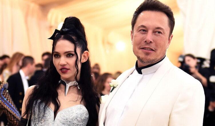 Илон Маск и певица Граймс