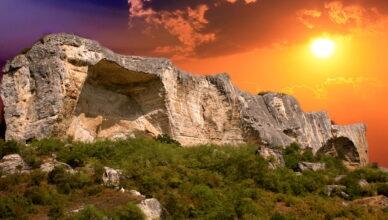 Пещерный город Качи-Кальон в Крыму