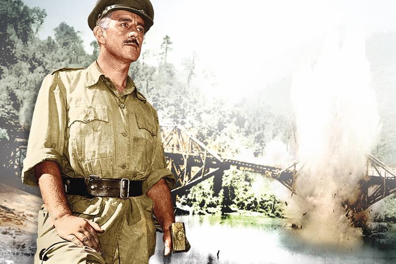 Кадр из фильма Мост через реку Квай