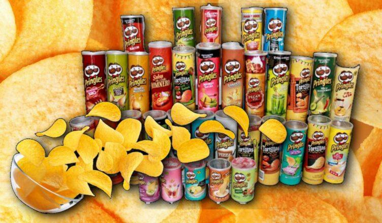 10 необычных вкусов чипсов Pringles